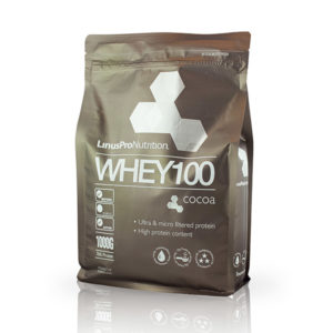 linuspro Whey100 kakao proteinpulver