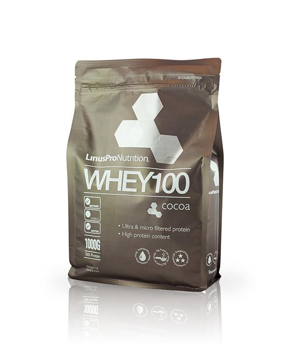 linuspro Whey100 kakao proteinpulver