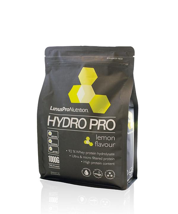 LinusPro HydroPro Proteinpulver lemon smag