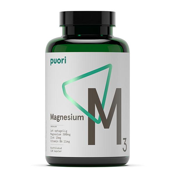 Puori Magnesium Zink B6-vitamin