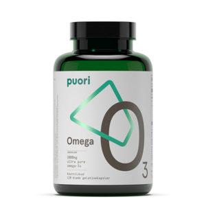 Puori Omega-3 kapselform