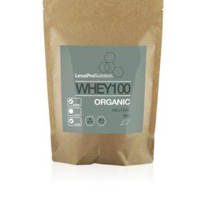 økologisk proteinpulver whey100 fra linuspro nutrition