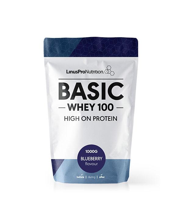 fakta om proteinpulver artikel - billede af linuspro basic 1 kg pose