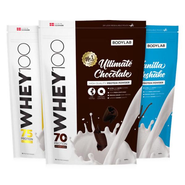 bodylab whey100 proteinpulver